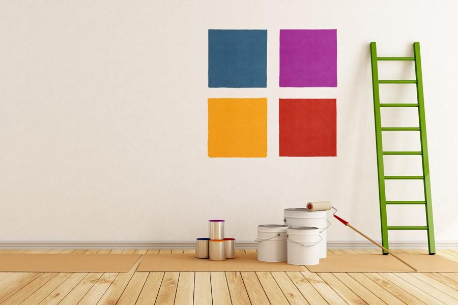 illustration de l'article sur les teintes de peinture